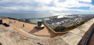 Barcelona Port Panorama